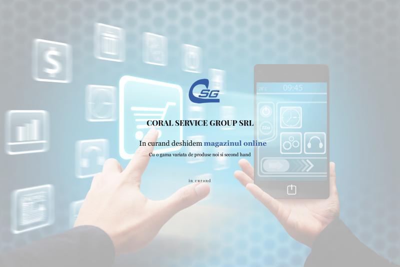 Magazin online coral service